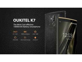 OUKITEL K7 to be most cost effective 10000mAh battery smartphone