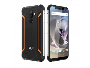 HOMTOM ZOJI Z33 4600mAh 3GB 32GB Android 8 1 Face ID IP68 Waterproof Rugged Mobile Phone