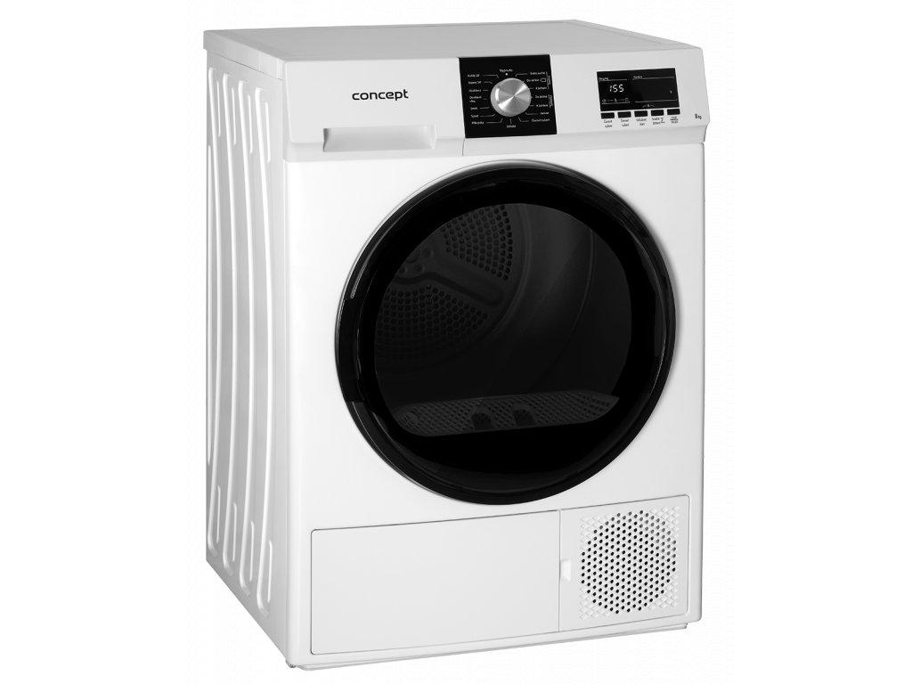Concept SP6508 Sušička prádla s tepelným čerpadlem 8 kg  + Sleva v eshopu