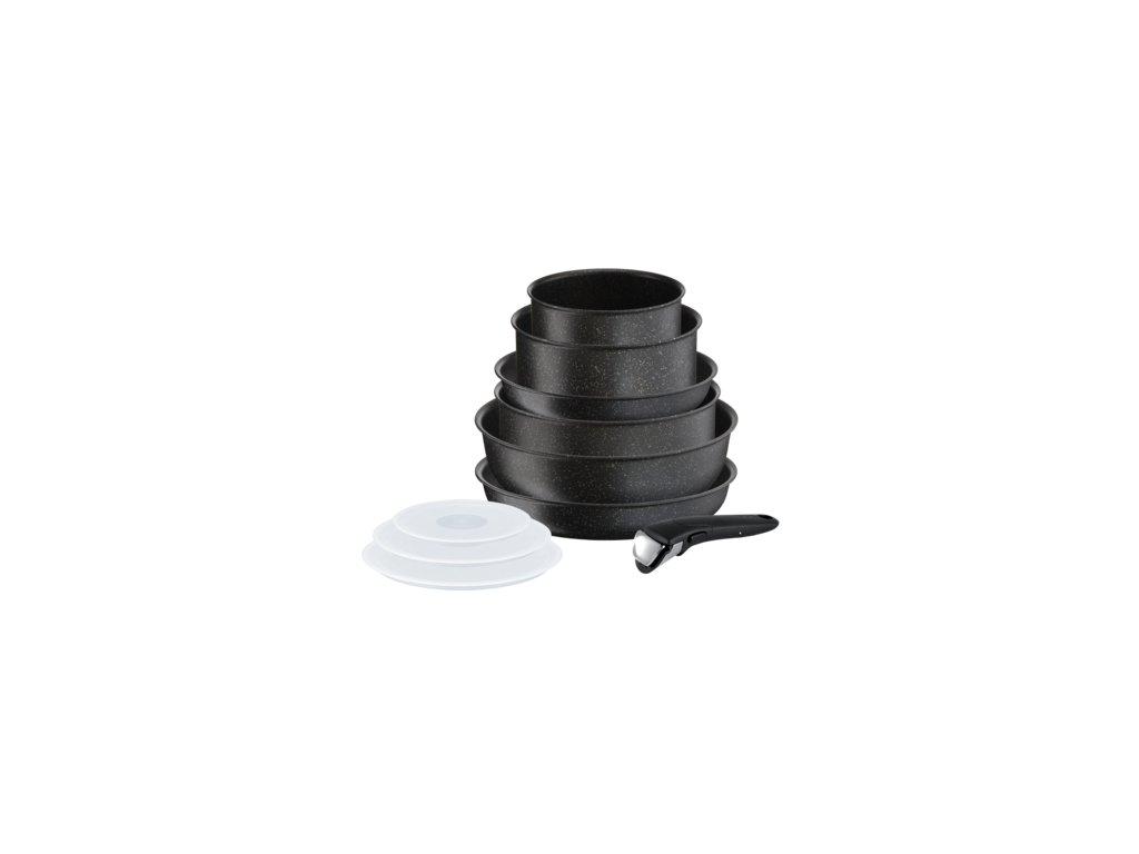 TEFAL L6719552 Ingenio Authentic 10-dílný set  + Oddělovač nádobí.