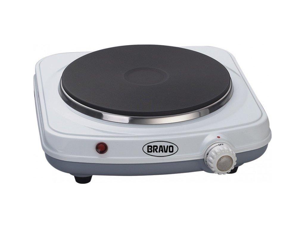 BRAVO B-4602 jednoplotýnkový vařič smalt