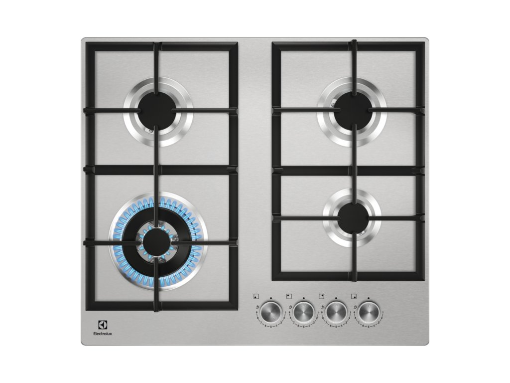 ELECTROLUX KGU 64361X plynová varná deska