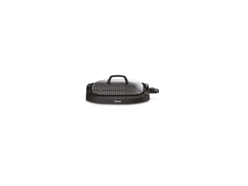TEFAL CB 6A0830 PLANCHA WITH LID gril