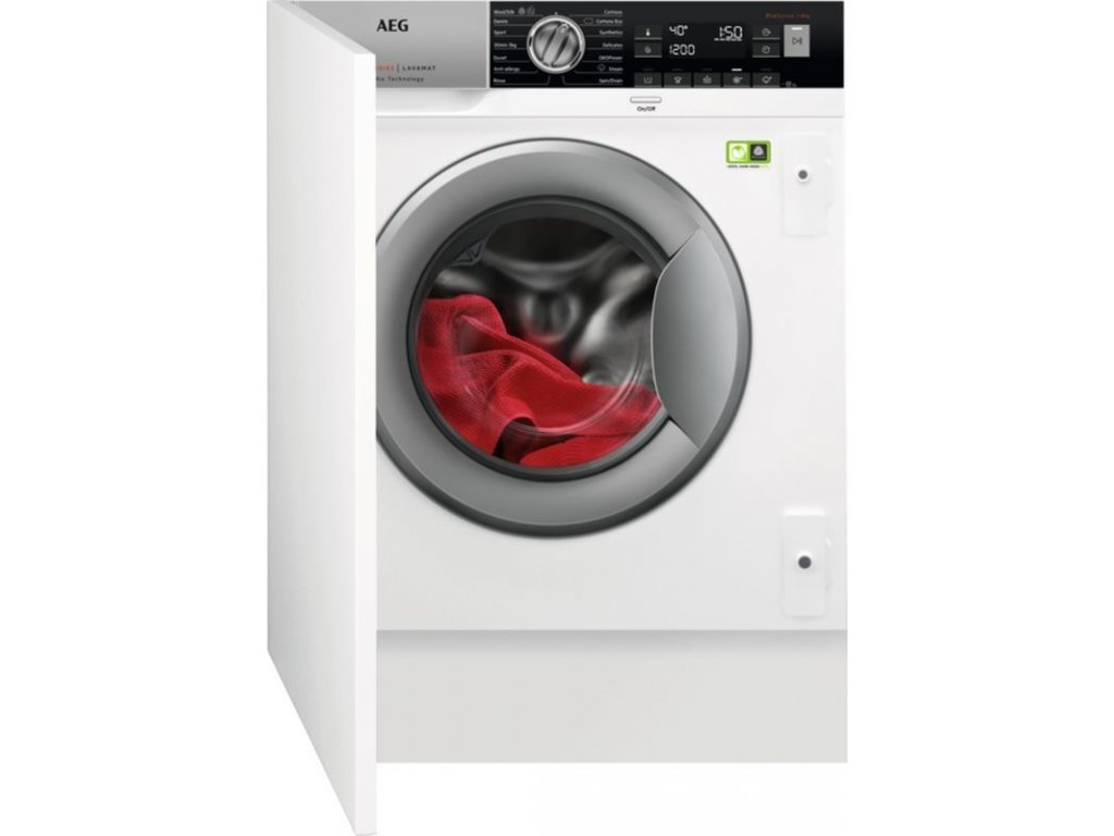 AEG L8FBE48SI vestavná automatická pračka
