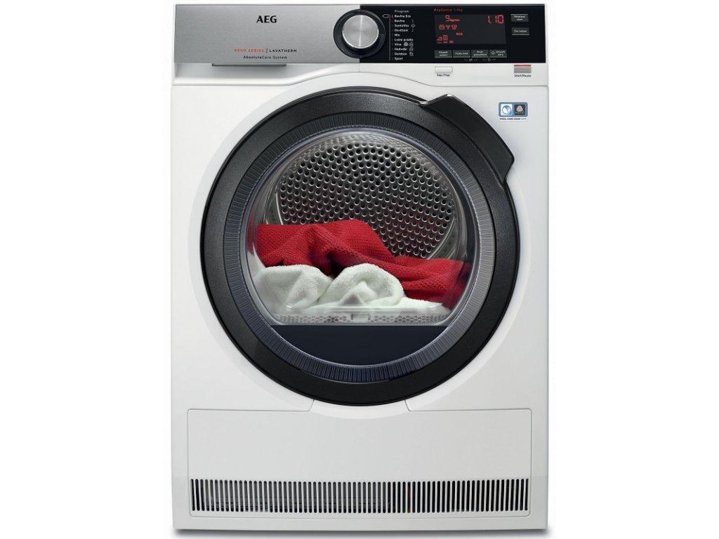 AEG T8DC49BCS sušička prádla