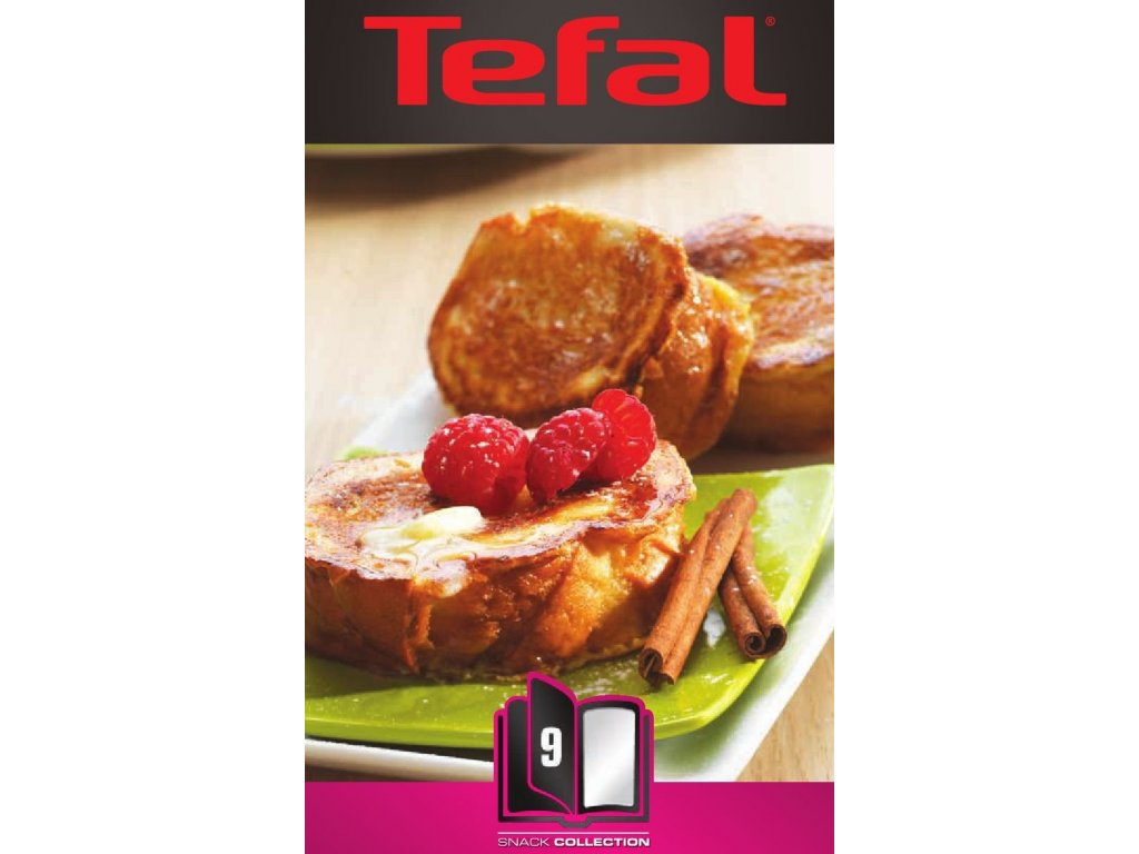 TEFAL XA 800912 ACC Snack Collec French Toast Box