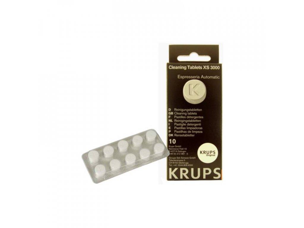 KRUPS XS 300010 čistící tablety