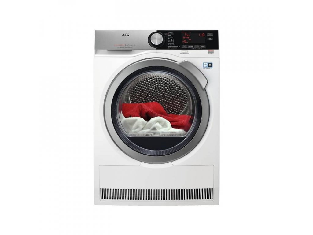 AEG T8DBC49SC sušička prádla