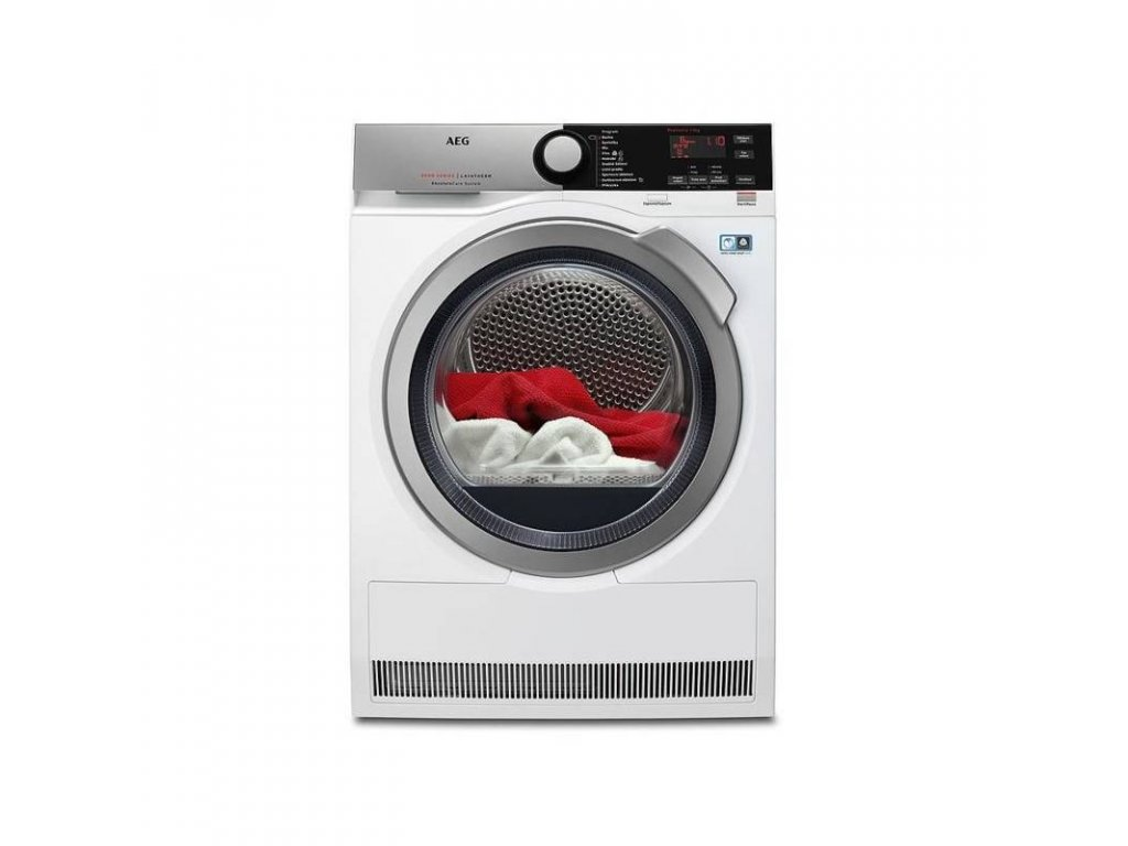 AEG T8DEE68SC sušička prádla