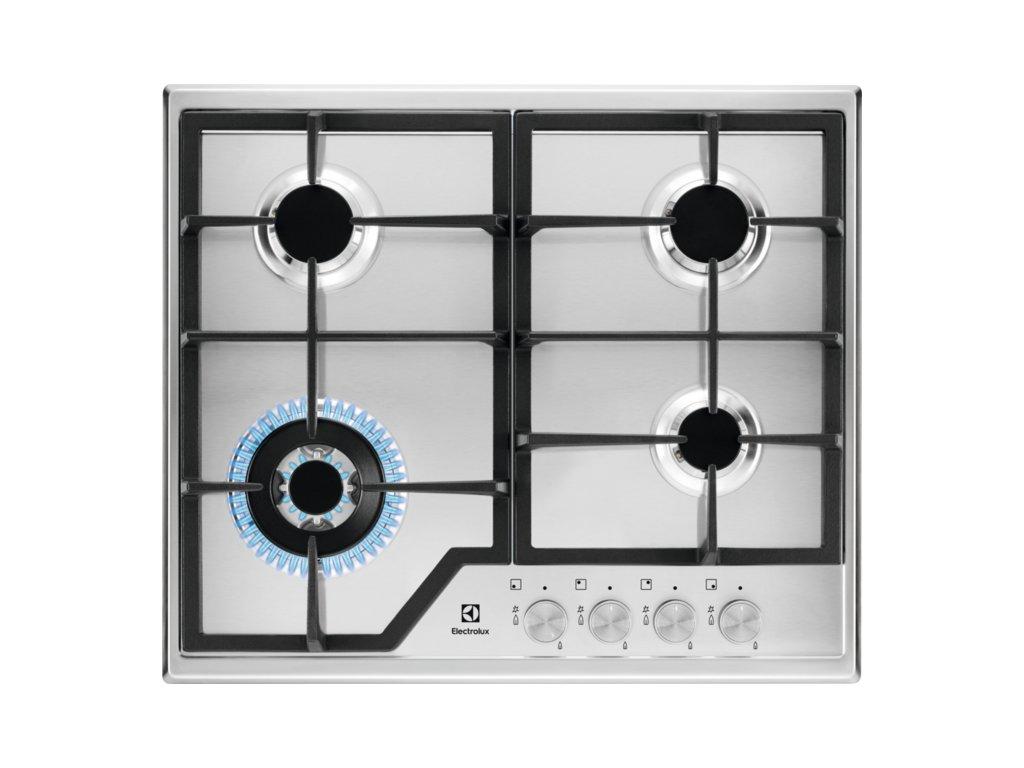 ELECTROLUX KGS 6436SX plynová varná deska