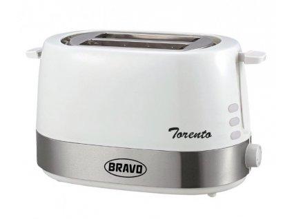 BRAVO B-4536 Torento bílý topinkovač