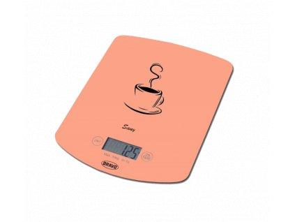 BRAVO B-5112 oranžová kuchyňská váha
