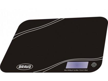 BRAVO B-5061 černá kuchyňská váha