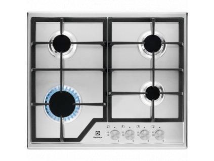 ELECTROLUX KGS 6426SX plynová varná deska