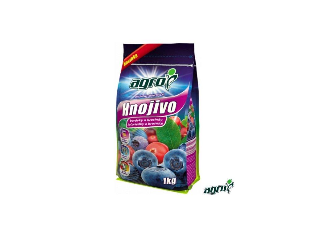 AGRO® Hnojivo organo-minerální na borůvky a brusinky 1 kg