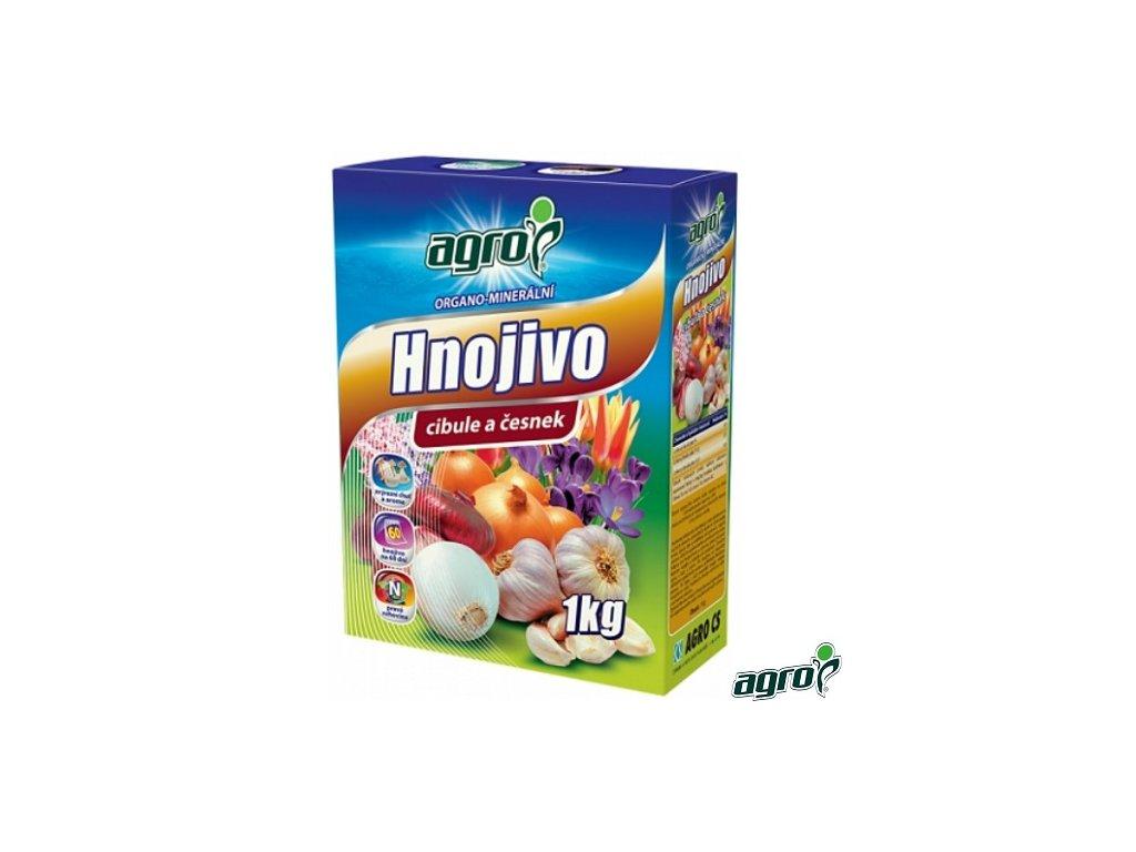 AGRO® Hnojivo organo-minerální na cibuli a česnek 1 kg