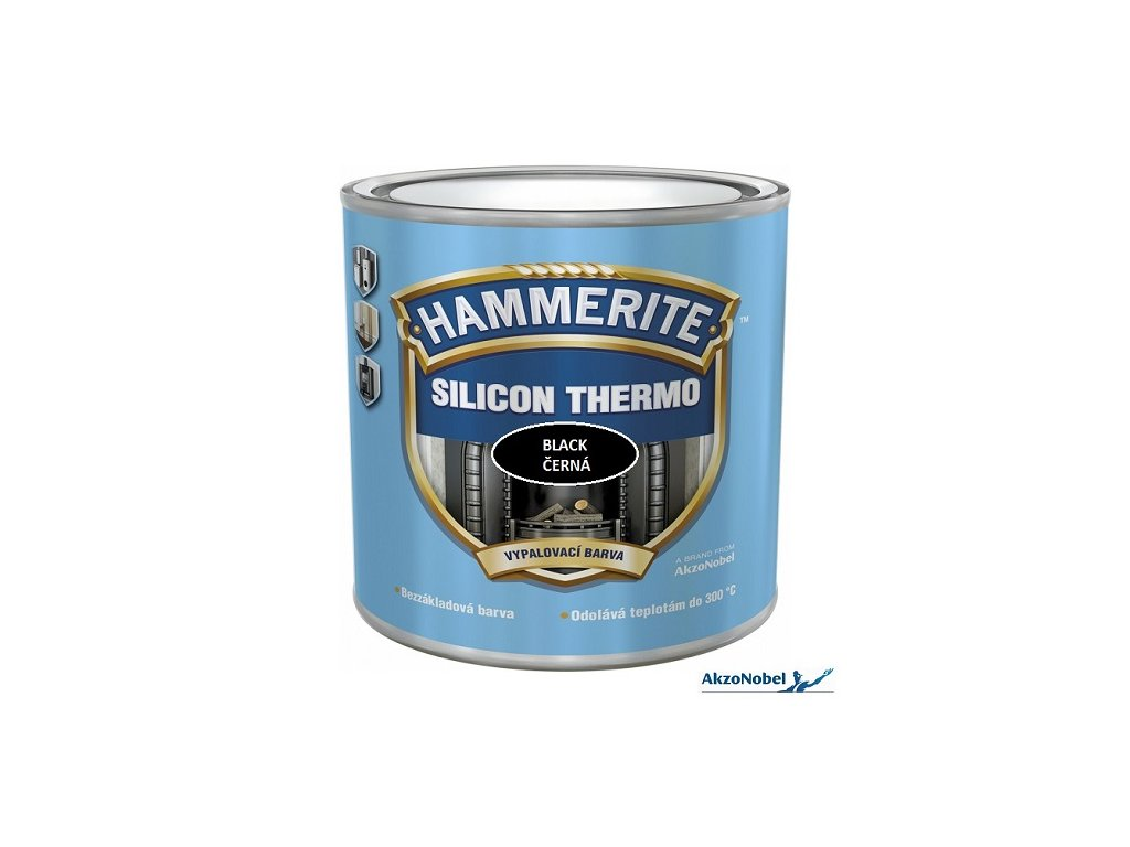 Hammerite Silicon Thermo ČERNÁ