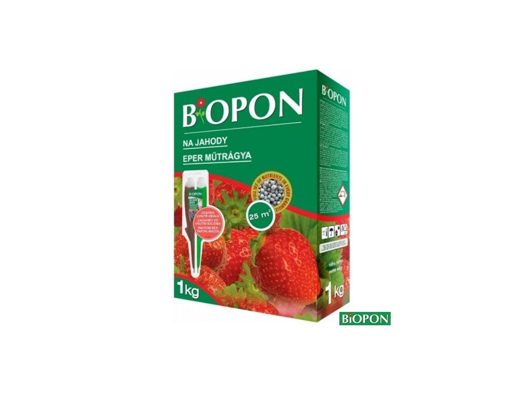 BIOPON® Hnojivo na jahody, 1 kg + duo elixír zdarma