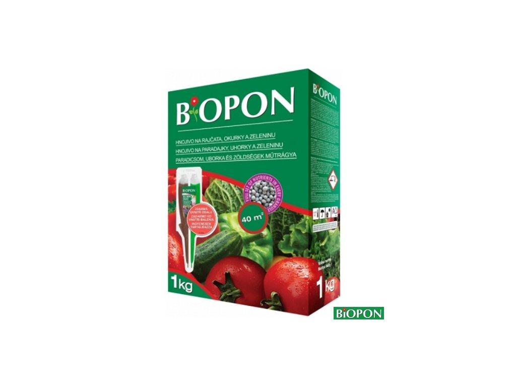 BIOPON® Hnojivo na rajčata, okurky, 1 kg + elixír DUO zdarma