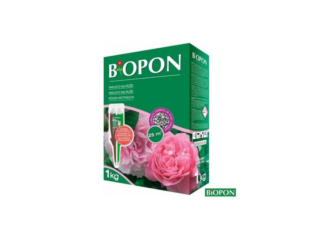 BIOPON® Hnojivo na růže, 1 kg + elixír DUO zdarma