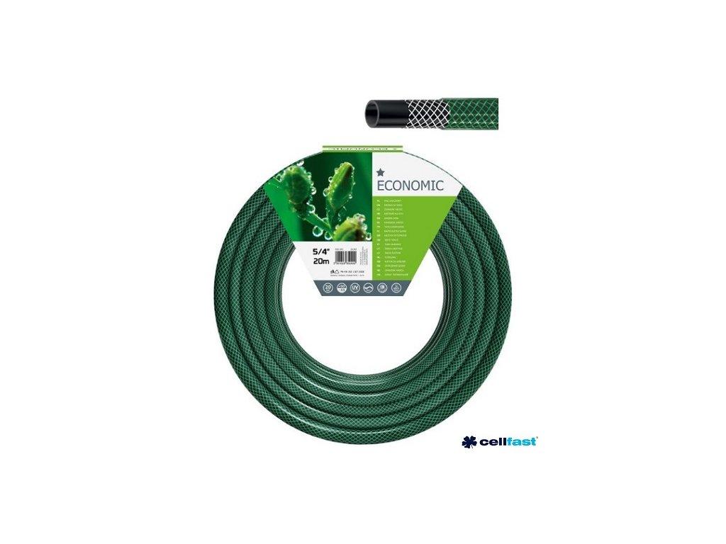 """CELLFAST® Hadice zahradní ECONOMIC, 5/4"""", 20 m, zelená"""