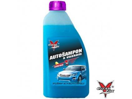 cleanfox autošampon s voskem