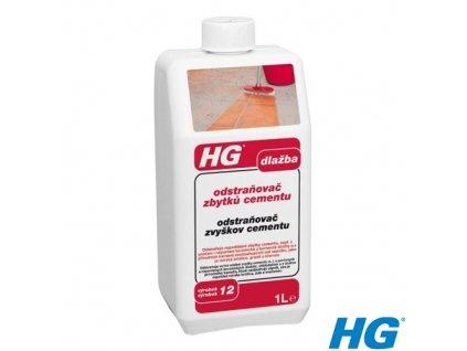 HG odstraňovač zbytků cementu a malty