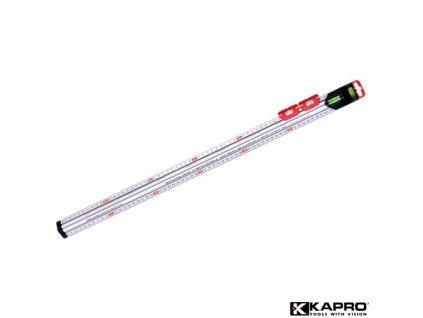 KAPRO® 313-120 Multifunkční měřítko, 1200 mm, 2 libely