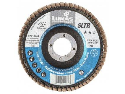 LUKAS® Lamelový brusný kotouč SLTR, 115 mm, NK 40