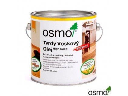 OSMO tvrdý voskový olej barevný 2,5