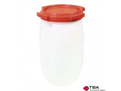 TBA Barel plastový se šroubovacím víkem, 30 l