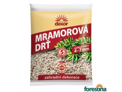 FORESTINA® DEKOR Mramorová drť, 4-7 mm