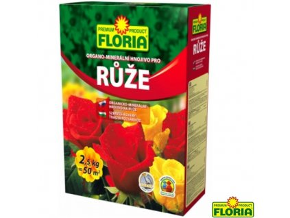 FLORIA® Hnojivo organo-minerální na růže, 2,5 kg