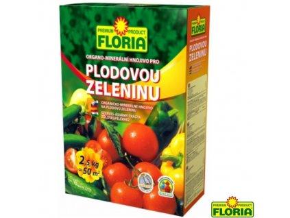 FLORIA® Hnojivo organo-minerální na plodovou zeleninu, 2,5 kg