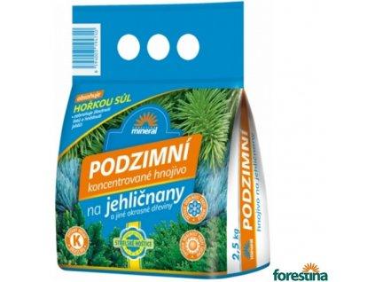 FORESTINA® MINERAL Hnojivo podzimní na jehličnany, 2,5 kg
