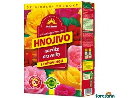 FORESTINA® ORGAMIN Hnojivo na růže a trvalky, 1 kg