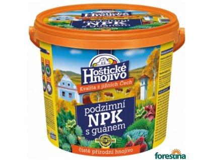 FORESTINA® HOŠTICKÉ NPK Hnojivo podzimní s guánem, 4,5 kg