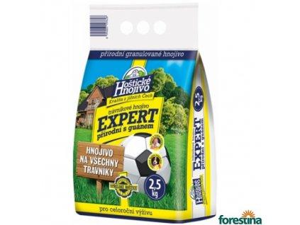 FORESTINA® HOŠTICKÉ EXPERT Hnojivo přírodní na trávník s guánem, 2,5 kg