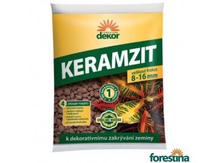 FORESTINA® DEKOR Keramzit, 8-16 mm, hnědý