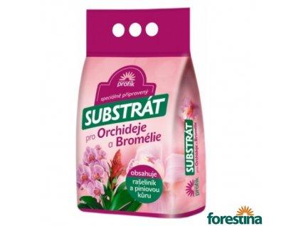 FORESTINA® PROFÍK Speciálně připravený substrát s piniovou kůrou pro orchideje a bromélie, 5 l