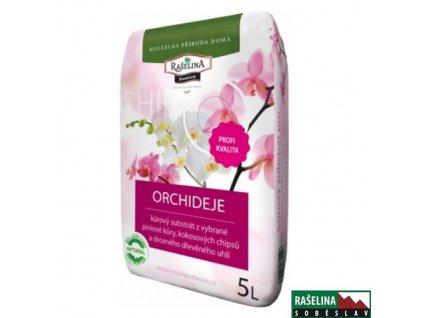 RAŠELINA SOBĚSLAV PREMIUM Substrát pro orchideje, 5 l