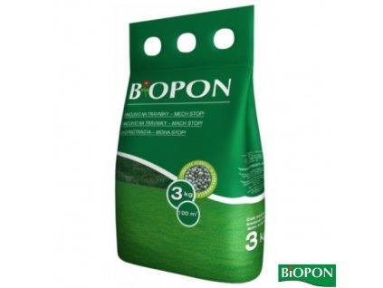 BIOPON® Hnojivo na trávník MECH STOP, 3 kg