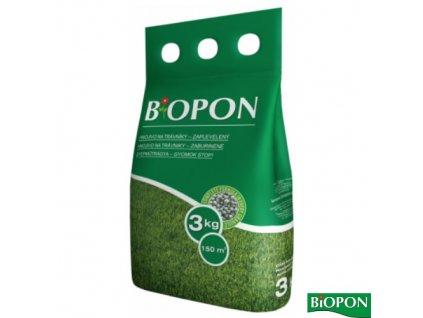 BIOPON® Hnojivo na trávník proti plevelům, 3 kg