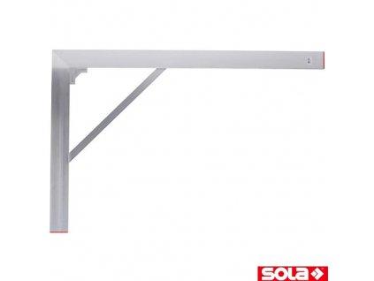 SOLA® BWS konstrukční úhelník ALU, 100 x 150 cm