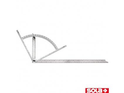 SOLA® AW Tesařský úhelník, nerez, 800 x 400 mm