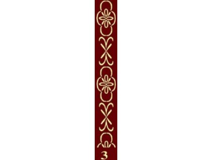 dekorační váleček bordur 3