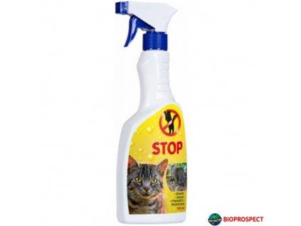 BIOPROSPECT® STOP Pachový odpuzovač koček, 500 ml s rozprašovačem