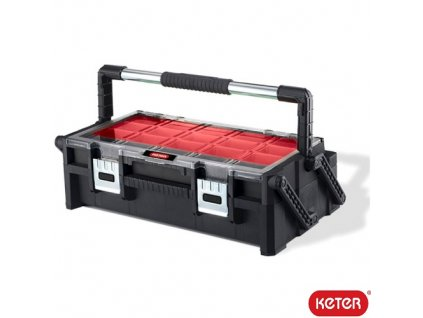 "KETER® CANTILEVER ORGANIZER 22"" Kufr na nářadí, ABS, 570 x 300 x 160 mm"