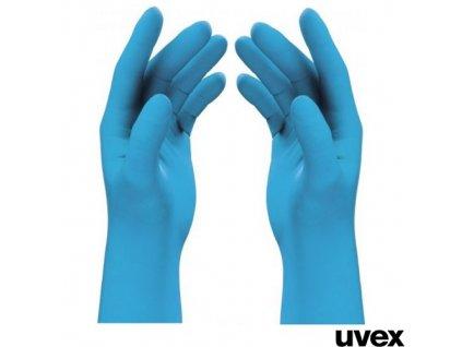UVEX® U-FIT LITE Pracovní rukavice jednorázové, nitril, 100 ks