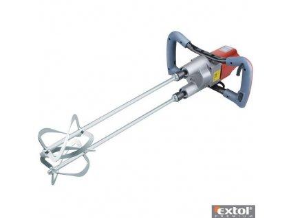EXTOL® PREMIUM Elektrické míchadlo stavebních směsí, dvoumetlové, 1800 W